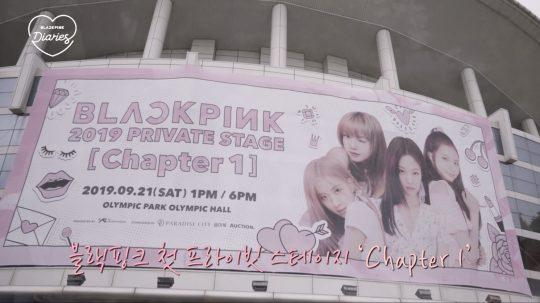 블랙핑크, 데뷔 3주년 기념 화기애애 '프라이빗 스테이지' 공개