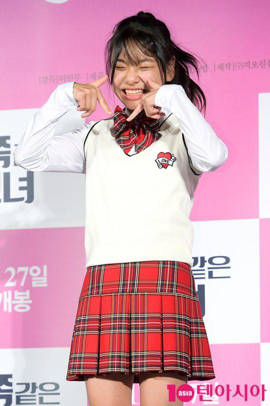 영화 '감쪽같은 그녀'에서 열두 살 애어른 공주로 분한 김수안. /서예진 기자 yejin@