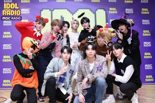 MBC 표준FM '아이돌 라디오' 현장 스틸컷. /사진제공=MBC