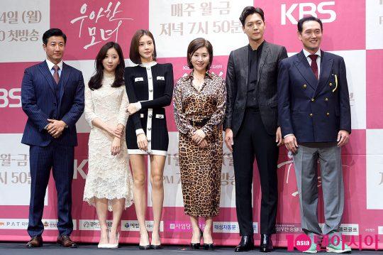 배우 이훈(왼쪽부터), 오채이, 차예련, 최명길, 김흥수, 김명수