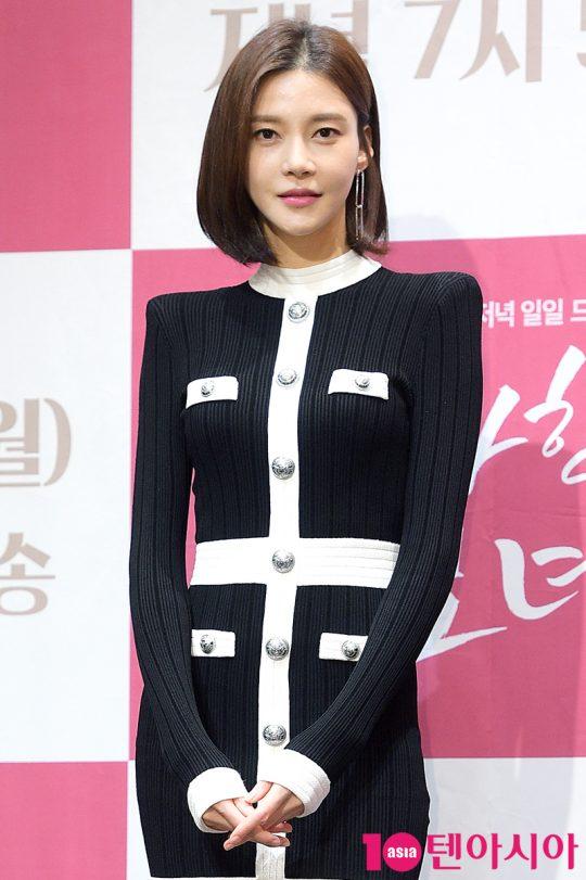 배우 차예련이 31일 오후 서울 신도림동 라마다호텔에서 열린 KBS2 일일드라마 '우아한 모녀' 제작발표회에 참석했다. / 서예진 기자 yejin@