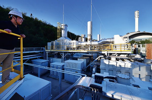 '386MW' 설비 용량 세계 1위…앞서가는 '수소 발전소'