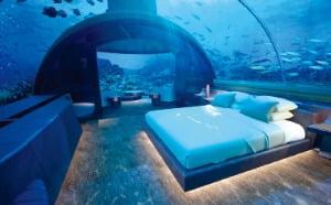몰디브의 해저빌라 콘래드 무라카.