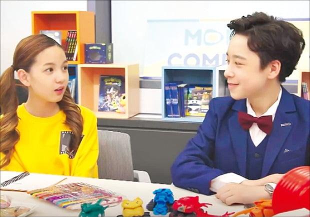케이블 채널 투니버스와 유튜브에서 동시 방영하는 웹드라마 '조아서 구독중'.  /CJ ENM 제공