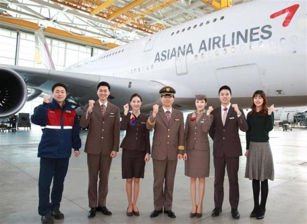 아시아나항공은 A350 등 최신 항공기를 도입해 글로벌 경쟁력을 높이고 있다.  금호아시아나그룹  제공