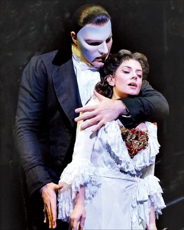 7년 만에 내한하는 미국 브로드웨이 오리지널 뮤지컬 '오페라의 유령'.