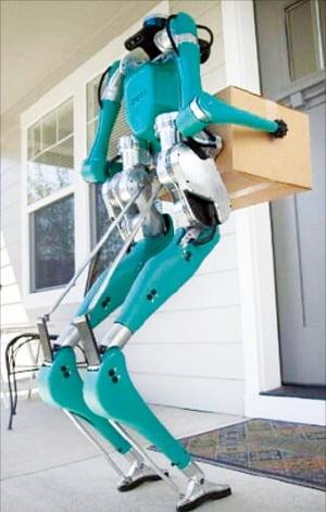 포드가 선보인 배달 로봇 '디지트'. 포드 제공