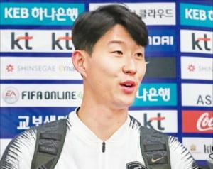 """손흥민 """"다치지 않고 돌아온 것만도 다행"""""""