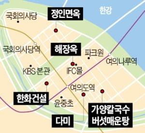 [김과장&이대리] 한화건설 직원들이 추천하는 여의도 맛집