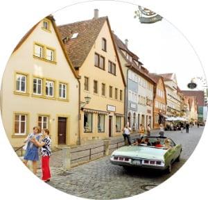 시간이 멈춘 듯한 도시 로텐부르크