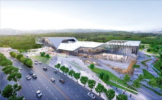 2021년 3월 개장하는 울산전시컨벤션센터. 울산광역시청