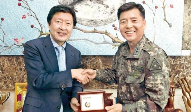 육군, 한경에 '지상군 페스티벌' 감사패 전달
