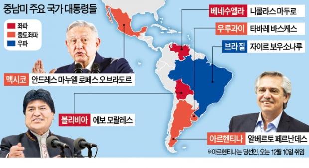 """다시 번지는 중남미 좌파 물결…브라질 """"메르코엑시트 닥친다"""""""
