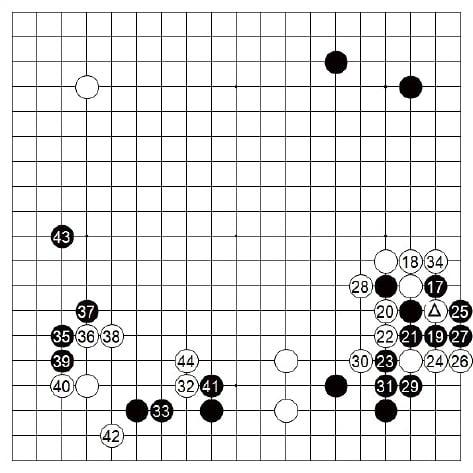 [제24기 하림배 프로여자국수전] 白, 방향 착오