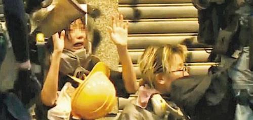 홍콩 복면금지법 위반 첫 기소…18세 대학생·38세 여성(종합2보)