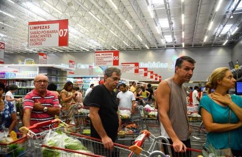 브라질 '마이너스 물가' 기록…9월 -0.04%로 1998년 이래 최저