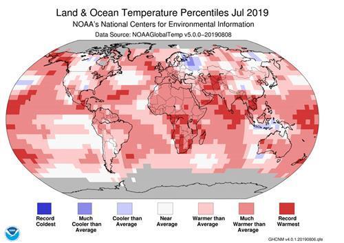 올여름 폭염 휩쓴 북반구, 역대 최고기온 신기록 400개 쏟아져