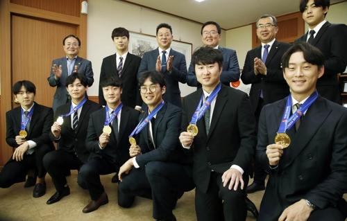 '분골쇄신' 광주 북구청 검도선수단…전국체전 금메달