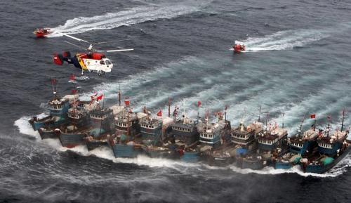 해경, 내일부터 NLL서 불법 중국어선 특별단속…함선 20척 투입