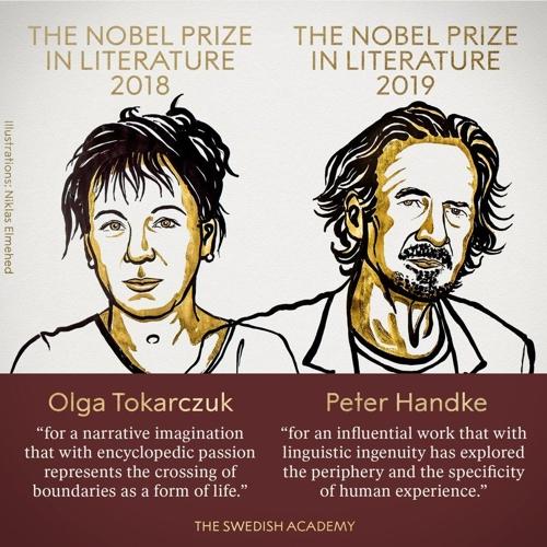 [2보] 노벨문학상 한트케·토카르추크…올해·작년 수상자 동시선정