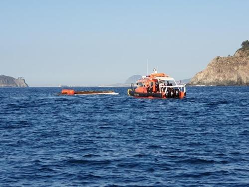 서귀포 해상서 어선 전복…승선원 3명 모두 구조