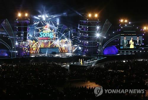 울산서 '2019 아시아송 페스티벌' 개막