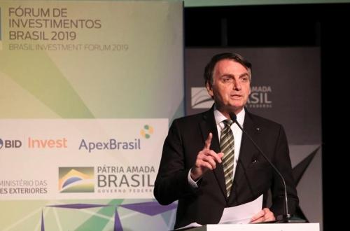 '친 이스라엘' 브라질 보우소나루, 이달 말 중동 3개국 방문