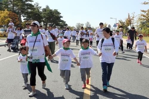 '2천명의 나눔레이스' 전주서 국제어린이마라톤 열려