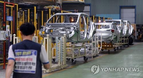 한국GM 車생산량 14년만에 최소…쌍용·르노삼성도 부진