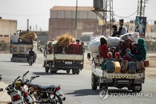 터키, 시리아 북동부서 5일간 조건부 휴전 합의