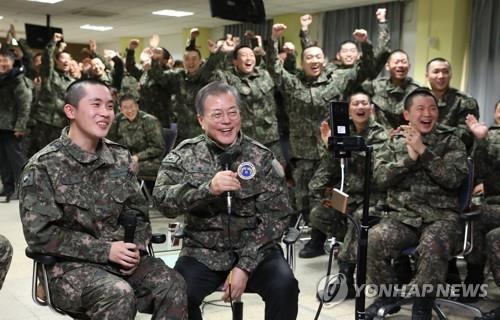 文대통령, '강한안보' 강조…국방비 첫 50조 돌파할지 주목