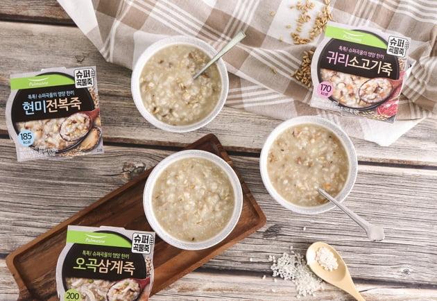 풀무원, 슈퍼 곡물로 영양과 맛 모두 살린 '슈퍼곡물죽' 3종 출시