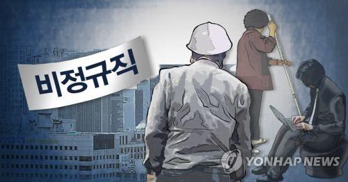 """불어난 비정규직 87만명…""""조사변경 탓""""외 남은 최소 37만명은?(종합)"""