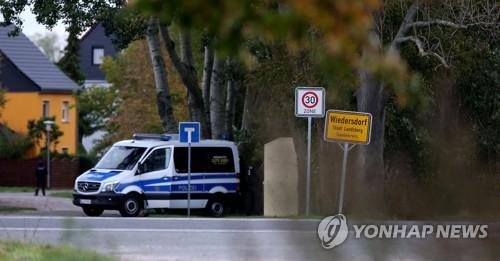 """독일 동부 유대교회당 인근서 총격 사건…""""최소 2명 사망"""""""