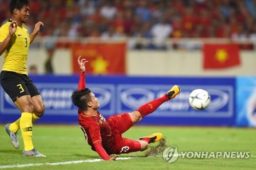 박항서의 베트남, 말레이시아 1-0 꺾고 월드컵 2차 예선 첫 승
