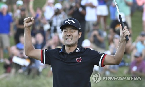 PGA 투어 우승 케빈 나, 세계 랭킹 40위에서 24위로 '껑충'