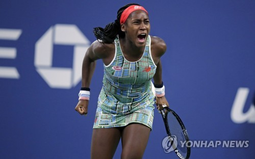 15세 가우프, WTA 투어 단식 결승행…오스타펜코와 우승 다툼