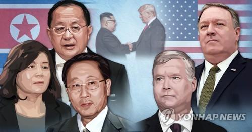 北美, 비핵화 실무협상 장소 '쉬쉬'…스웨덴 '유력'