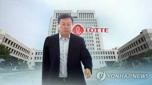 '국정농단·경영비리' 롯데 신동빈 징역 2년6개월 집유 확정