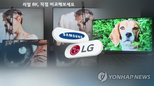 'TV기술 논쟁' 삼성·LG, 한국전자전서 또다시 8K TV '격돌'