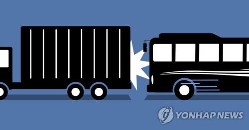 대형차 사고 늘어나는 행락철…부산경찰청 암행순찰 강화