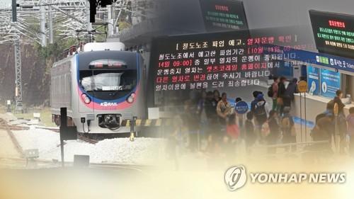 부산도 열차대란, 여객열차 운행률 78%…승객들 발 동동
