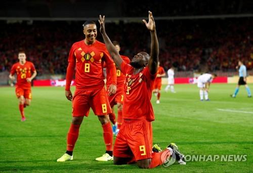 벨기에, 유로2020 본선 진출 1호 확정…산마리노 9-0 대파