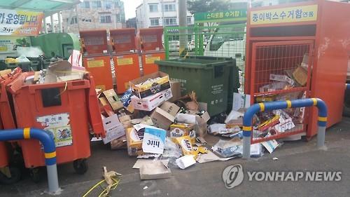 """""""온라인쇼핑 증가로 과대포장 심각…생활폐기물 40%가 포장재"""""""