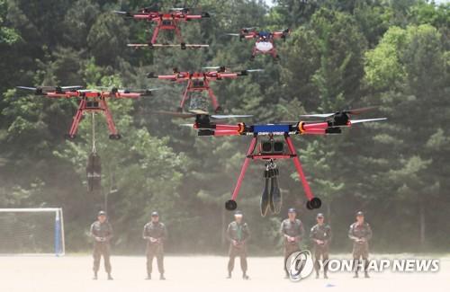 육군51사단·지자체, 예비군 드론감시정찰분대 편성