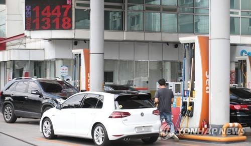"""주유소 기름값 상승세 멈췄다…""""당분간 안정세 이어갈듯"""""""