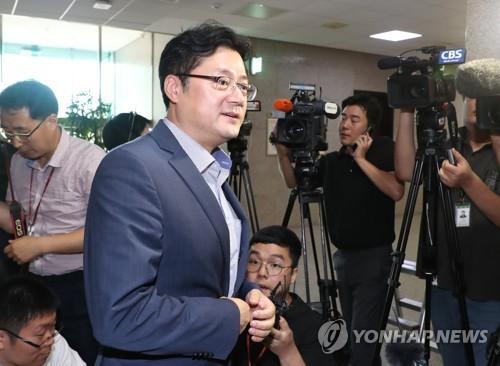 """與 """"영장기각, 적절한 판단"""" 법원 옹호…柳 '녹취록 논란' 차단"""