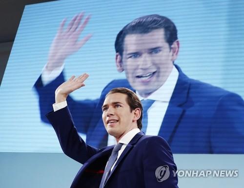 총선 승리한 오스트리아 쿠르츠, 새 연정 구성 논의 착수