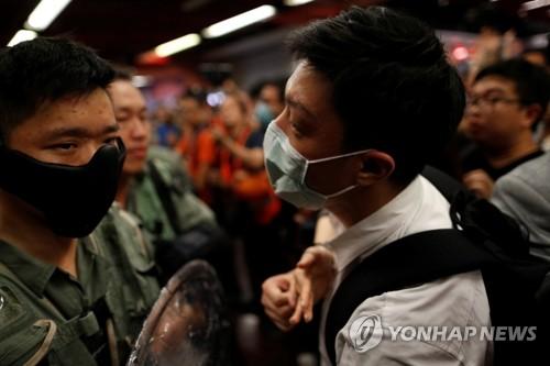 """""""홍콩 정부, '복면금지법' 5일 0시부터 시행할 것""""[SCMP]"""