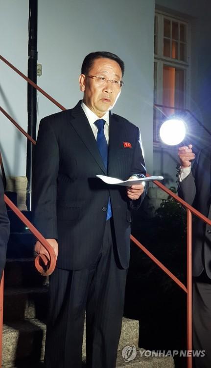 北美 '스톡홀름 담판' 노딜…비핵화협상 하노이회담前으로 후퇴